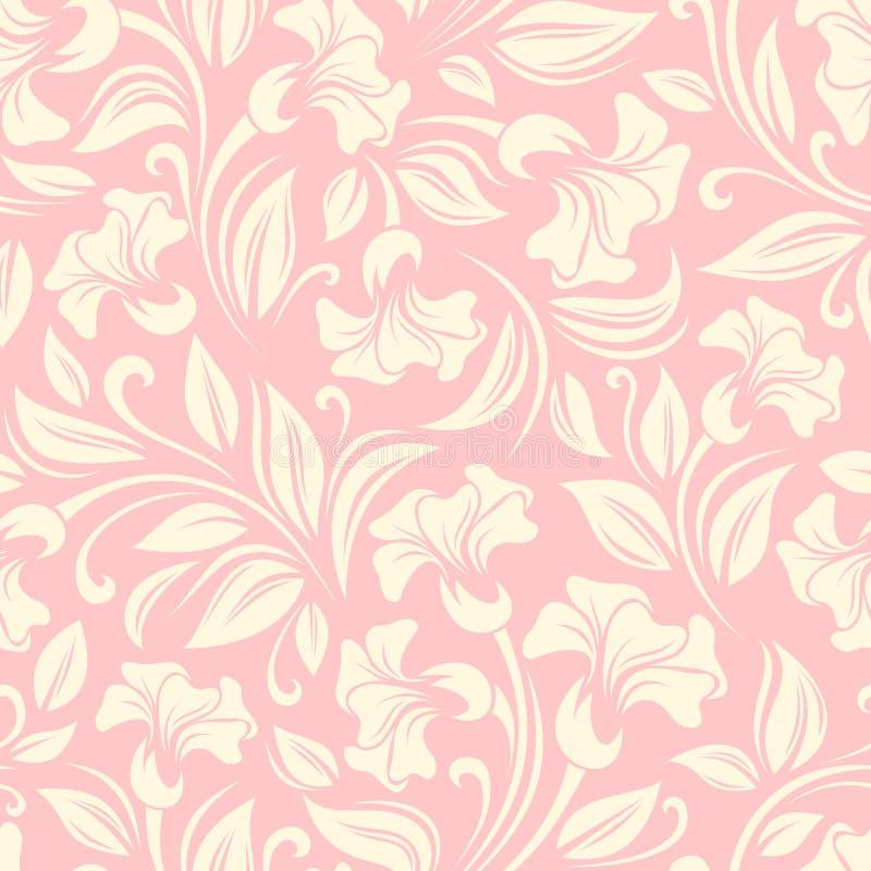 Naadloos BloemenPatroon Vector illustratie vector illustratie