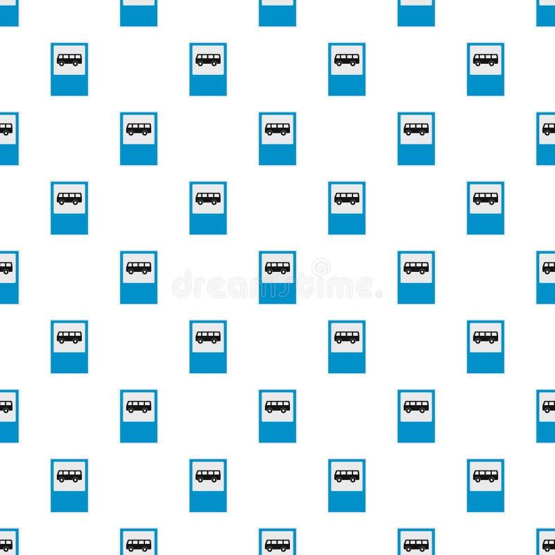 Naadloos bushaltepatroon stock illustratie