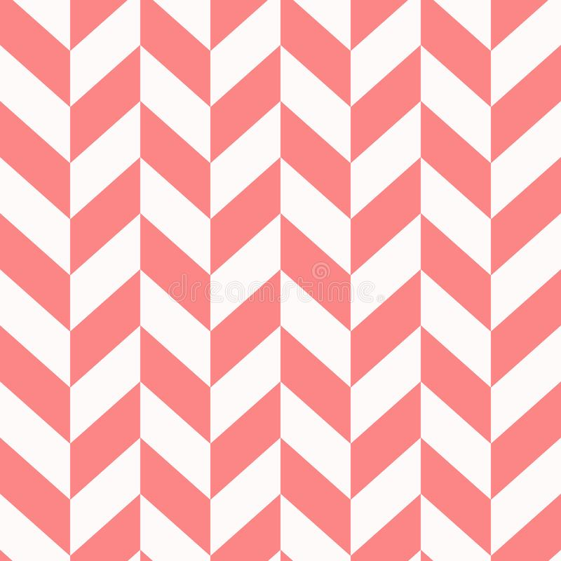 Naadloos chevronpatroon op document textuur Vector illustratie vector illustratie
