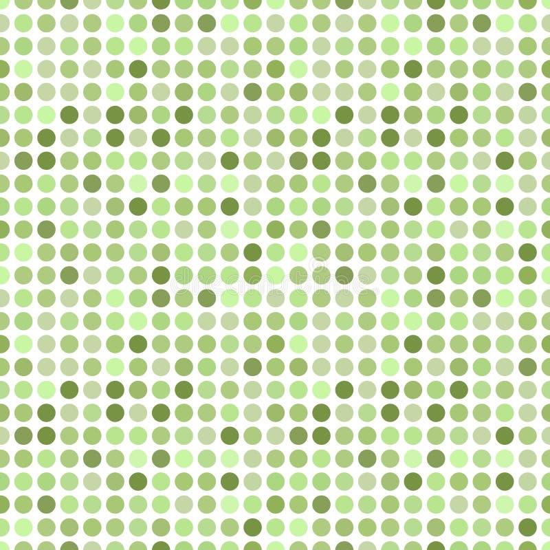 Naadloos cirkelpatroon vector illustratie