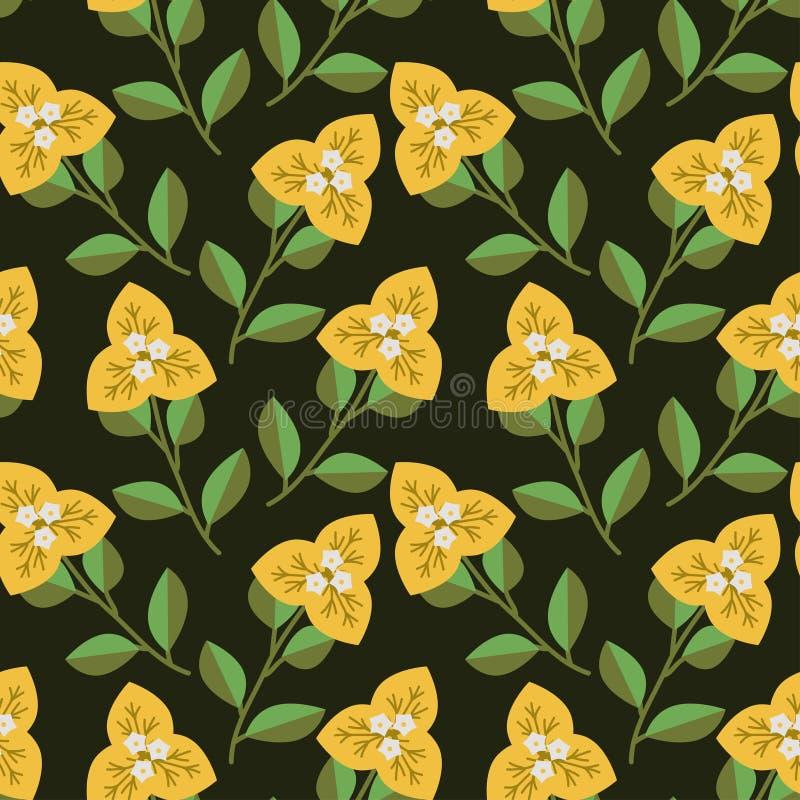 Naadloos Decoratief Patroon royalty-vrije illustratie