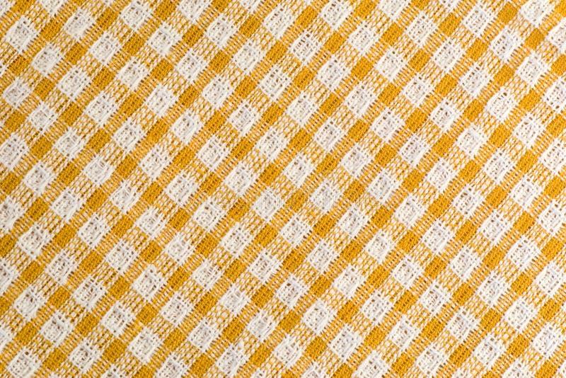 Naadloos diagonaal tafelkleed stock foto