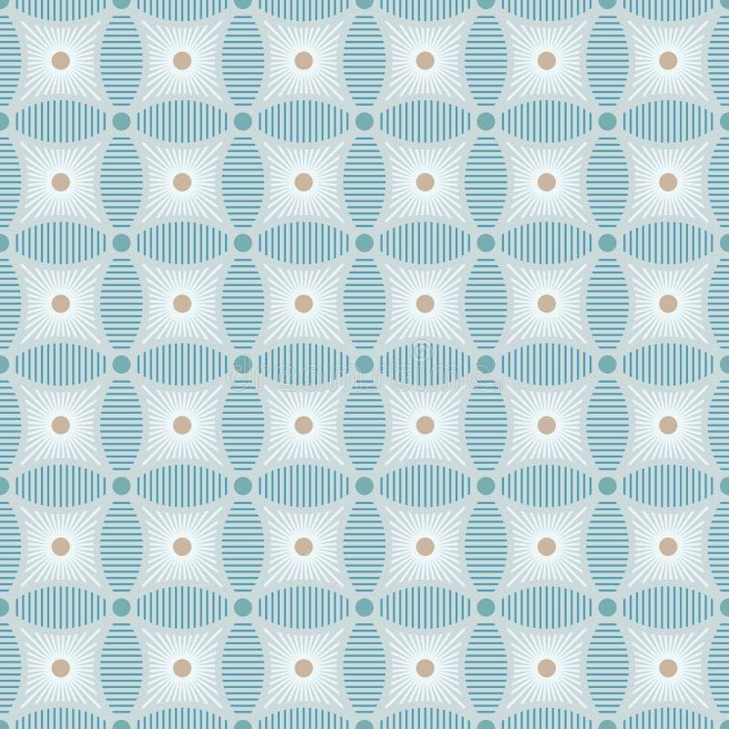 Naadloos diamantvormig patroon royalty-vrije illustratie