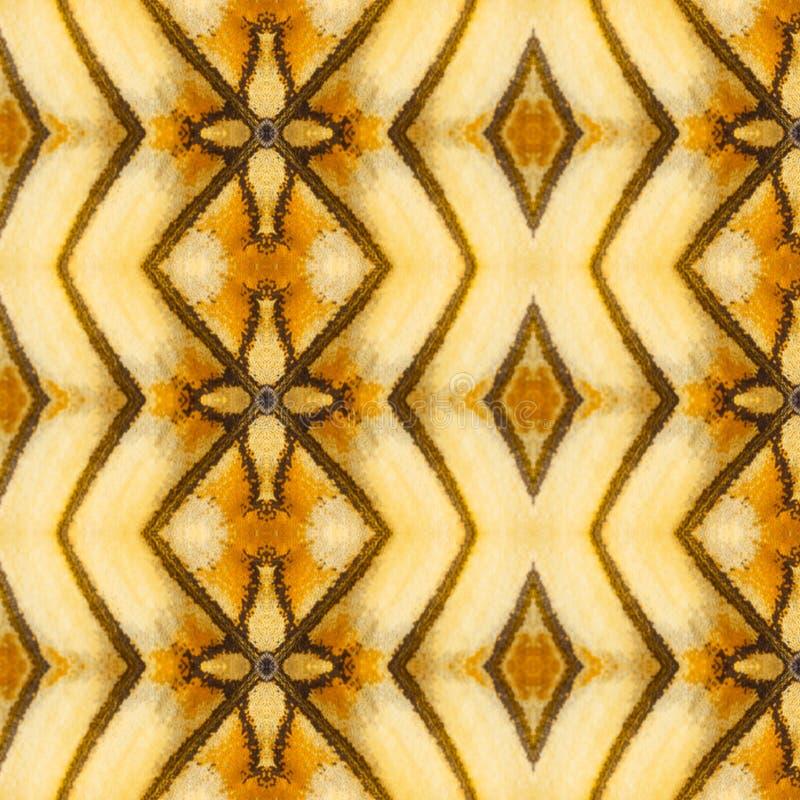 Naadloos die patroon van kleurrijke vlindervleugel wordt gemaakt voor backgroun royalty-vrije stock foto's