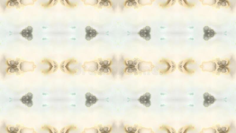 Naadloos driedimensioneel caleidoscooppatroon - pastelkleurkleuren vector illustratie