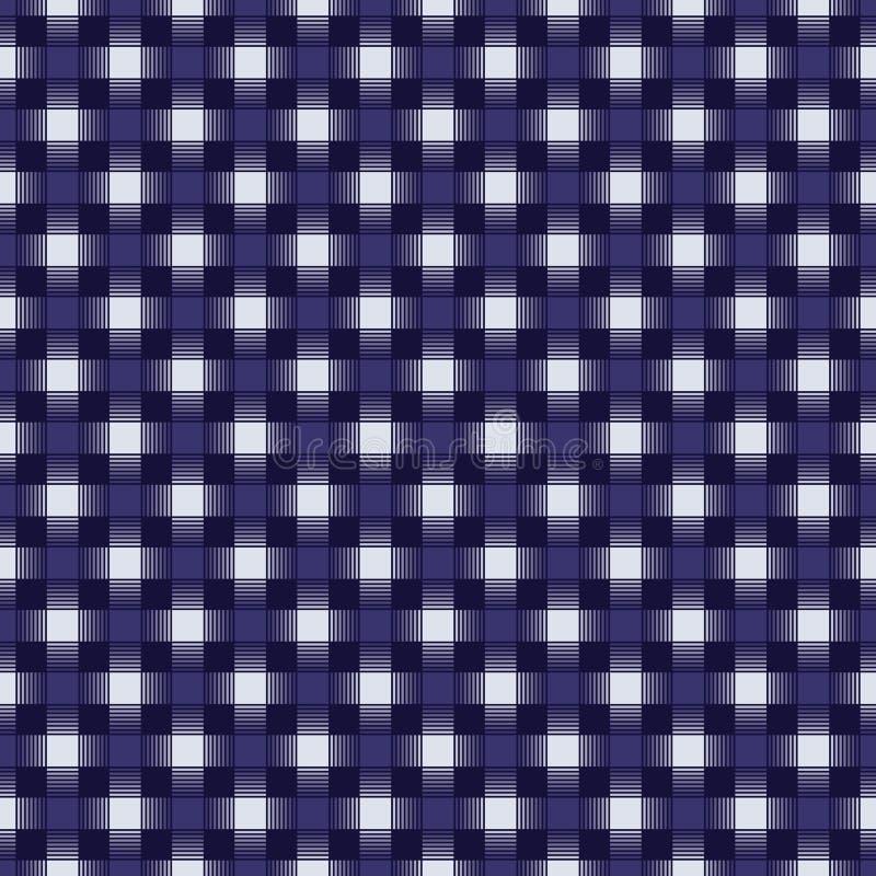 Naadloos geometrisch verweven controlepatroon royalty-vrije illustratie