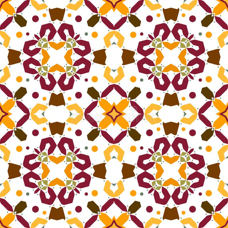 Naadloos gestreept patroon in Azteekse stijl vector illustratie