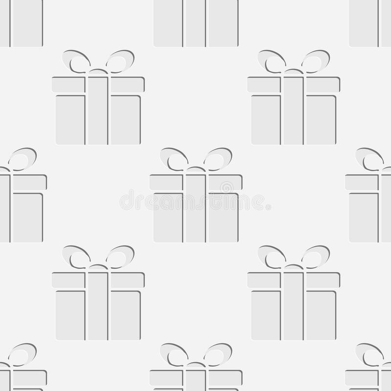 Naadloos giftenpatroon vector illustratie