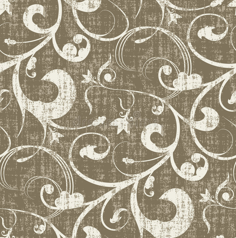 Naadloos Grungy Patroon vector illustratie