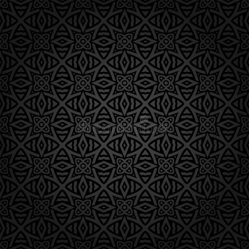 Naadloos Keltisch patroon vector illustratie