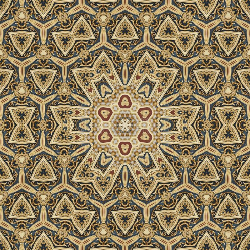 Naadloos Keltisch patroonontwerp 002 royalty-vrije stock foto