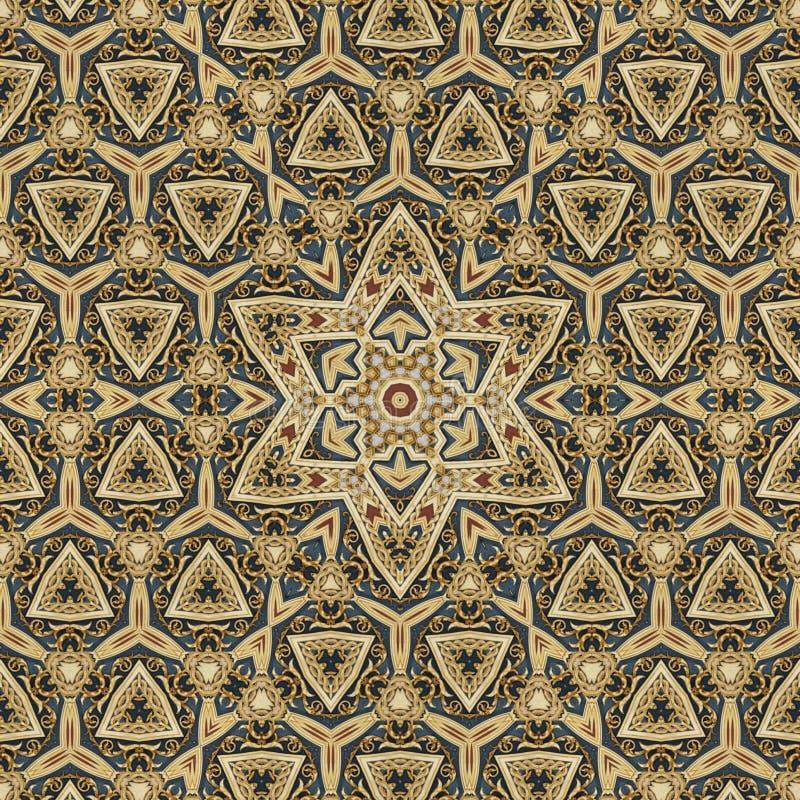 Naadloos Keltisch patroonontwerp 004 royalty-vrije stock foto