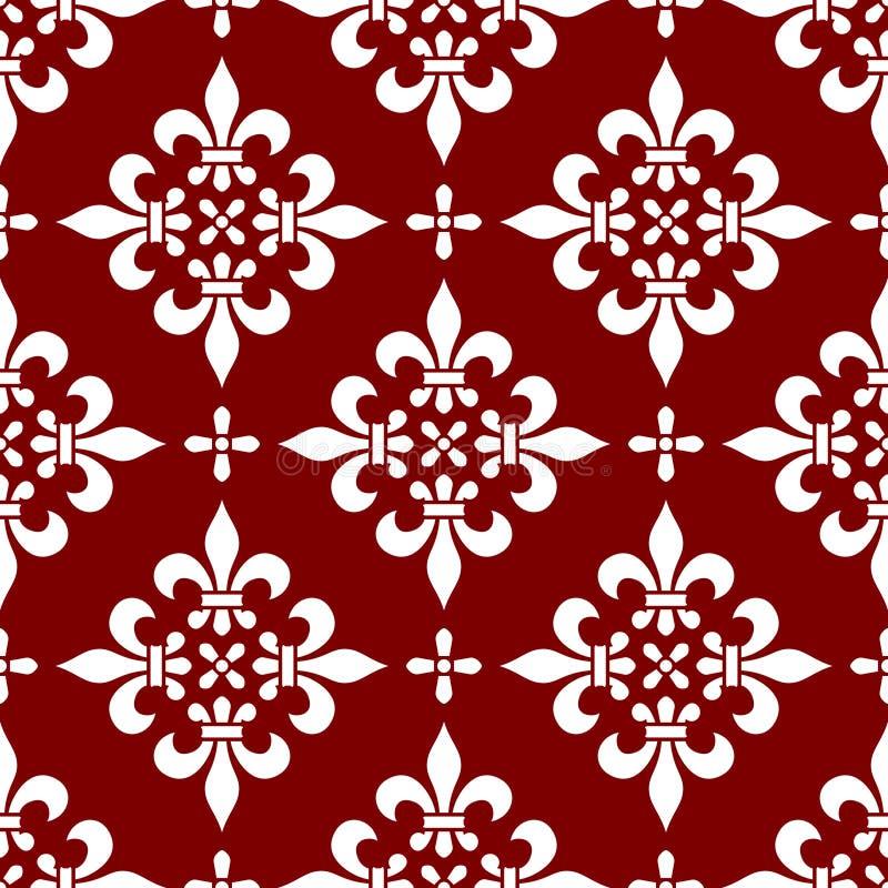 Naadloos Klassiek Patroon [2] vector illustratie