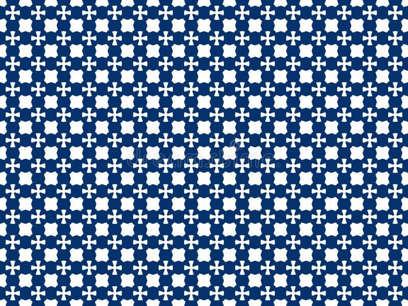 Naadloos kleurenpatroon van geometrische vormen van om het even welke vorm vector illustratie