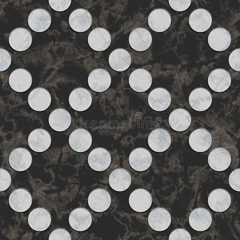 Naadloos marmeren patroon stock foto's