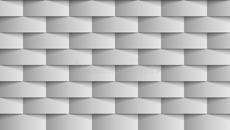 Naadloos Modern Gray Texture Background stock illustratie