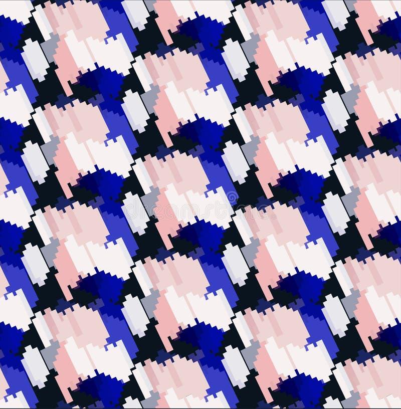 Naadloos modieus geometrisch patroon royalty-vrije stock afbeelding