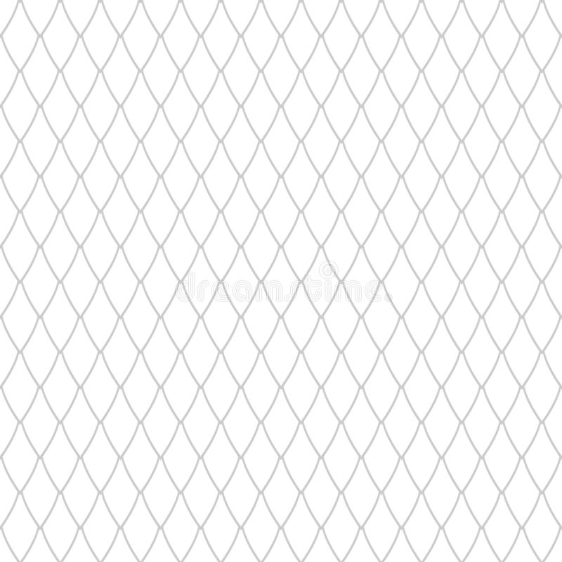Naadloos netto patroon Van tralies voorzien textuur stock illustratie