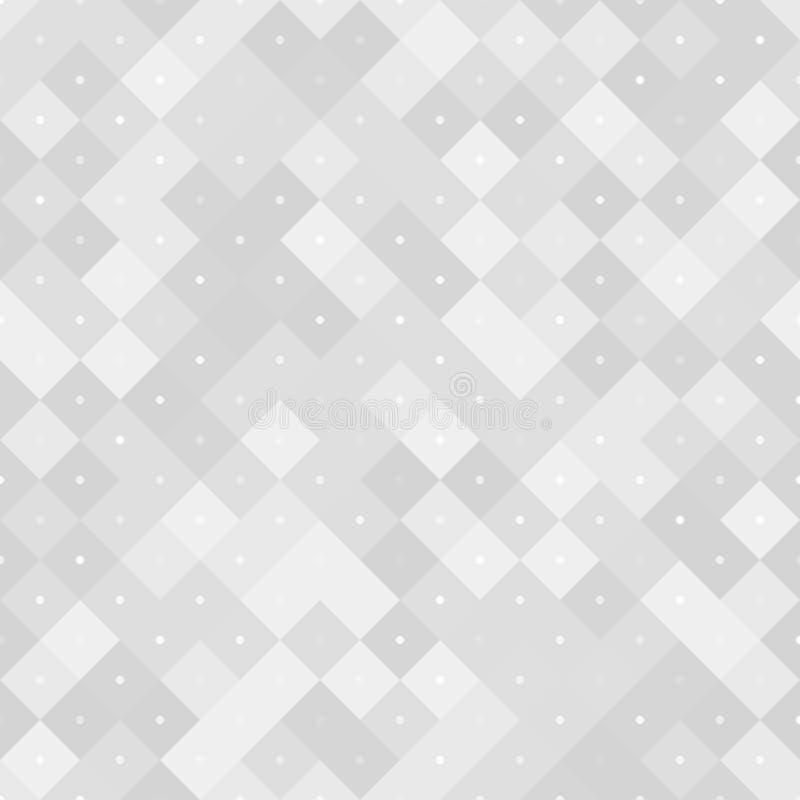 Naadloos neutraal patroon met pixel vector illustratie