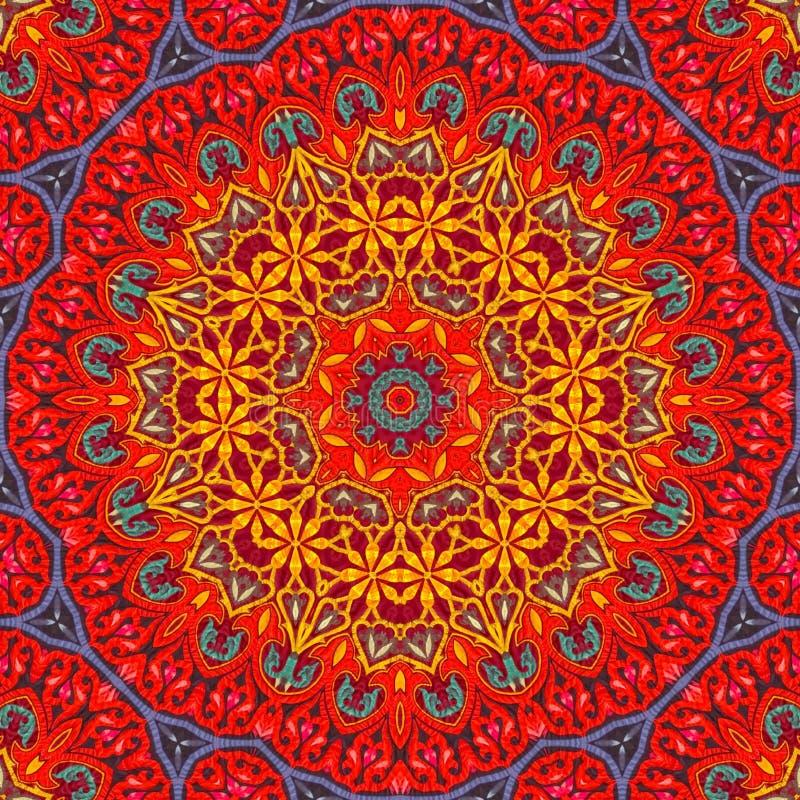 Naadloos ontwerp 017 van het khayameyapatroon stock afbeelding