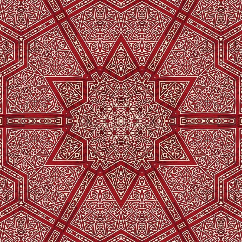 Naadloos ontwerp 015 van het khayameyapatroon royalty-vrije stock foto