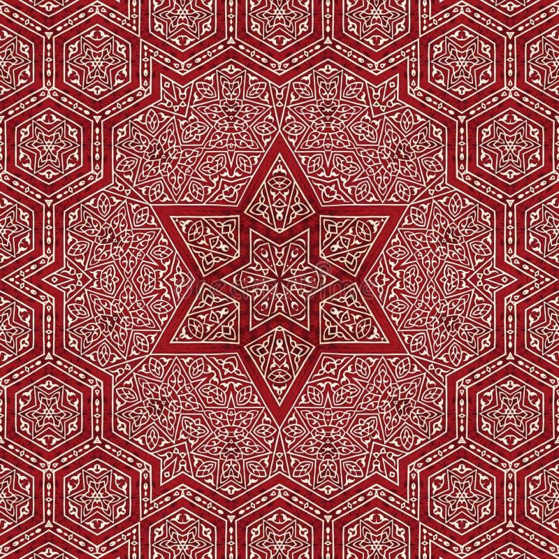 Naadloos ontwerp 014 van het khayameyapatroon stock fotografie