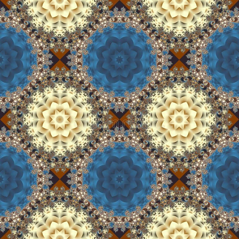 Naadloos openwork patroon U kunt het voor uitnodigingen gebruiken, noteb vector illustratie