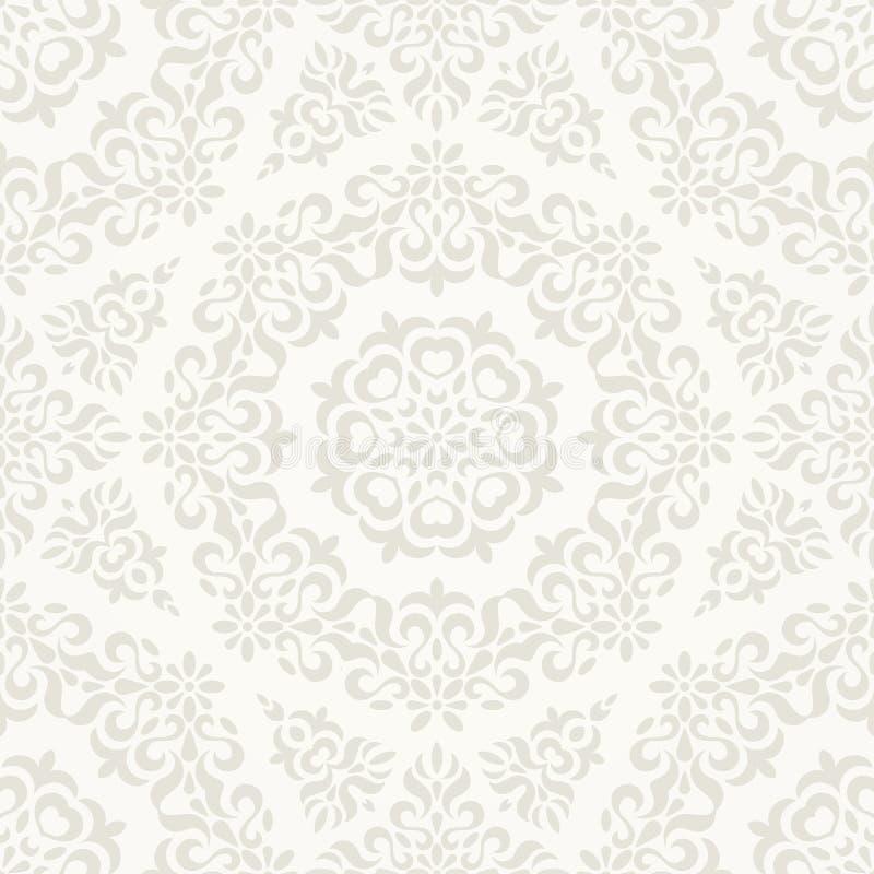 Naadloos overladen retro patroon. vector illustratie