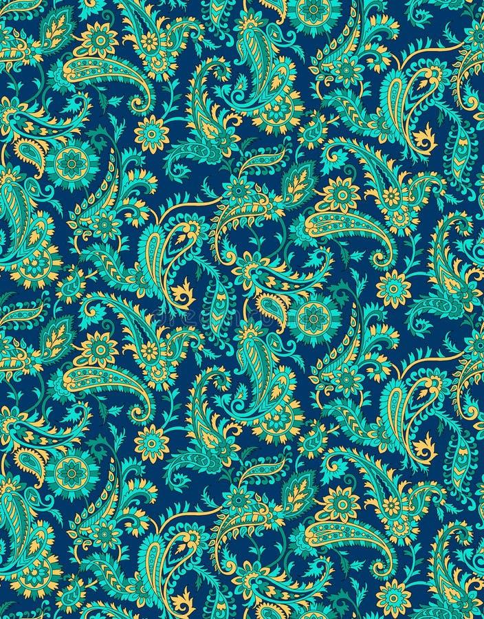 Naadloos Paisley patroon vector illustratie