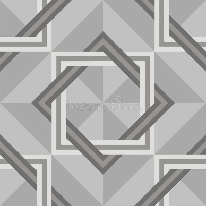 Naadloos parket of marmeren textuur royalty-vrije illustratie
