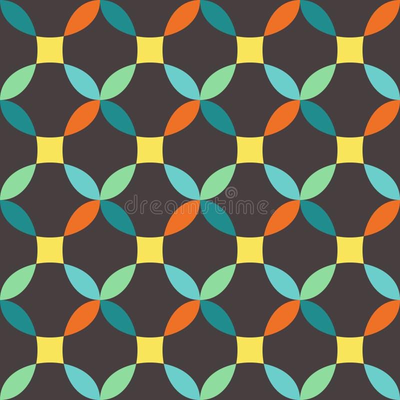 Download Naadloos patroon vector illustratie. Illustratie bestaande uit geometrisch - 54075014