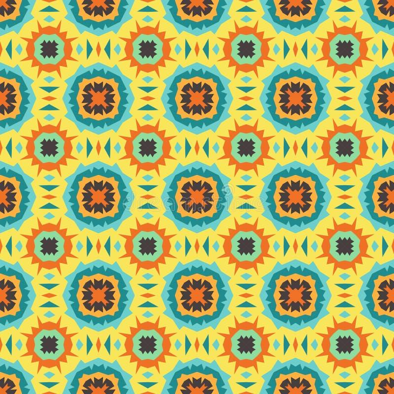 Download Naadloos patroon vector illustratie. Illustratie bestaande uit modern - 54075027