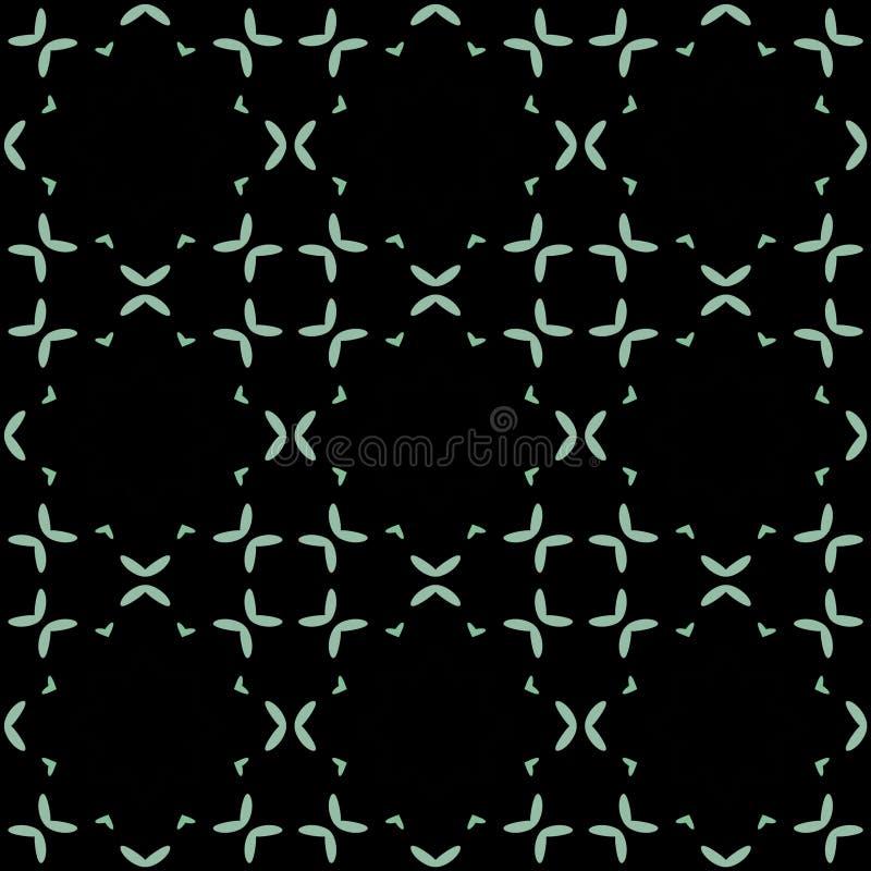 Naadloos patroon als achtergrond met een verscheidenheid van multicolored lijnen vector illustratie