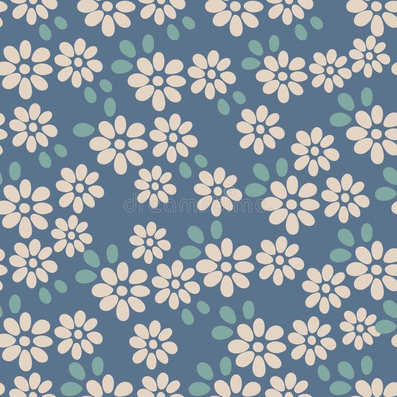 Naadloos patroon Bloem vector illustratie