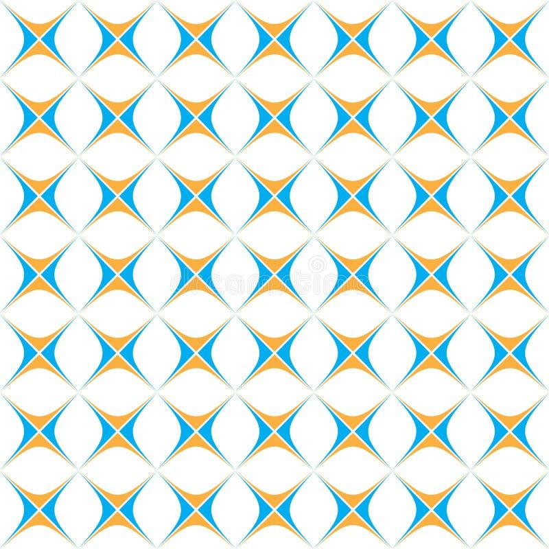 Naadloos patroon, die patroon, vectorachtergrond herhalen royalty-vrije illustratie