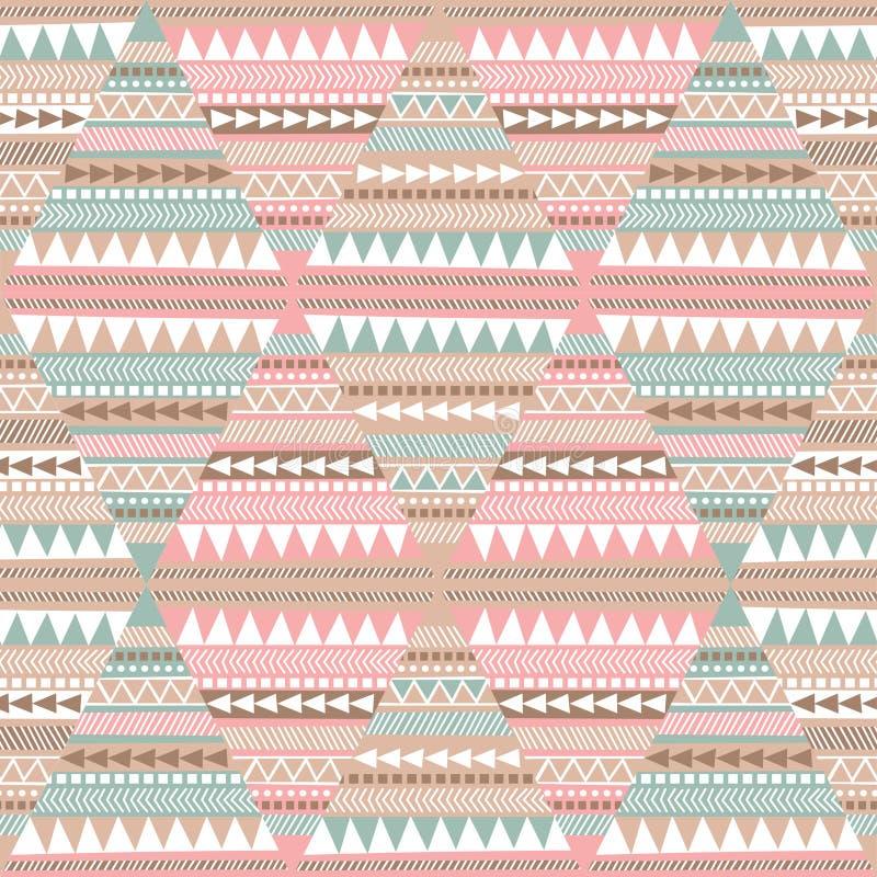 Naadloos patroon, geometrisch patroon stock illustratie