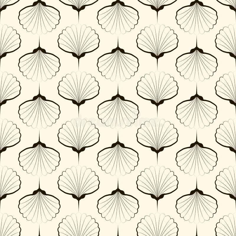 Naadloos patroon, grafisch ornament Vector die textuurverstand herhalen stock illustratie