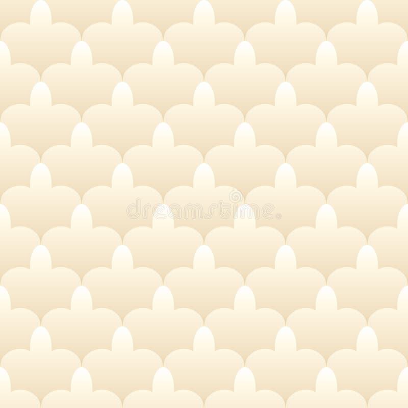 Naadloos patroon in Islamitische stijl royalty-vrije illustratie