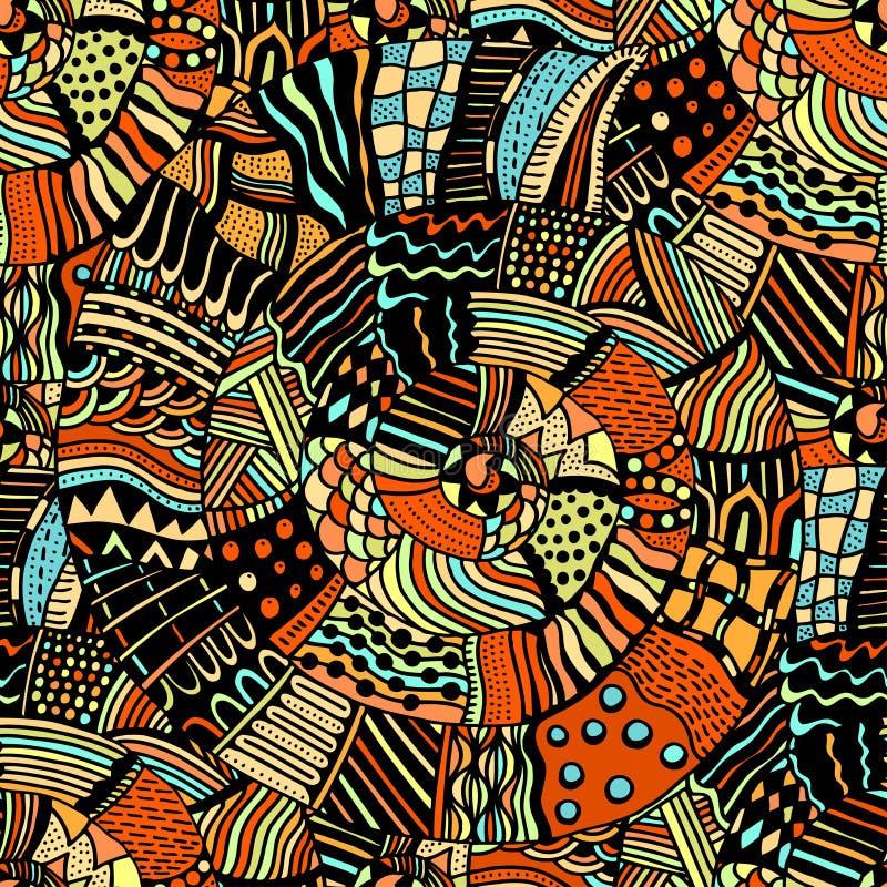Naadloos patroon met royalty-vrije illustratie