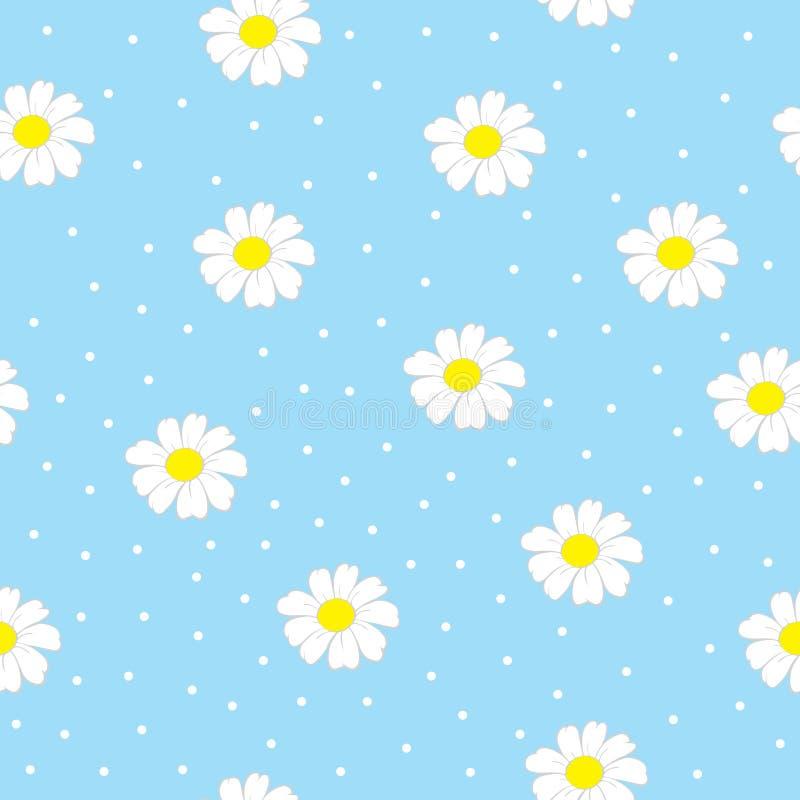 Naadloos patroon met bloemen Kan voor achtergrond, behang worden gebruikt vector illustratie