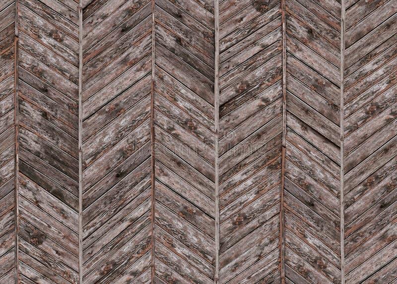 Naadloos patroon met de uitstekende panelen van de parketvloer stock afbeeldingen