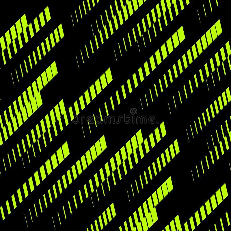 Naadloos patroon met diagonale lijnen Extreem patroon Sportpatroon royalty-vrije illustratie