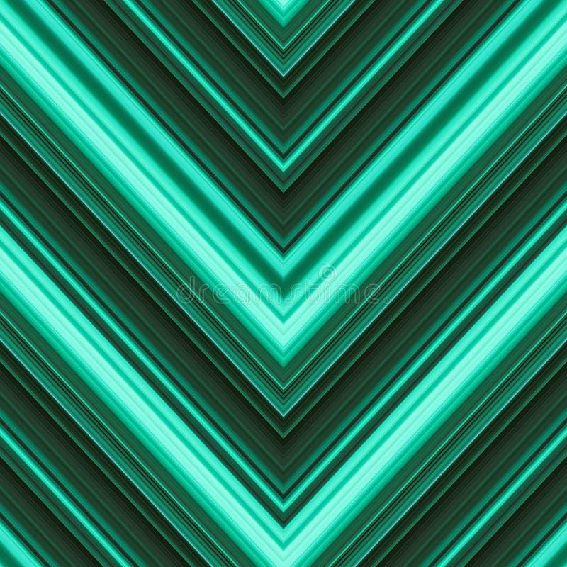 Naadloos patroon met een patroon met lineair ornament Geneigde slagen van behang royalty-vrije illustratie