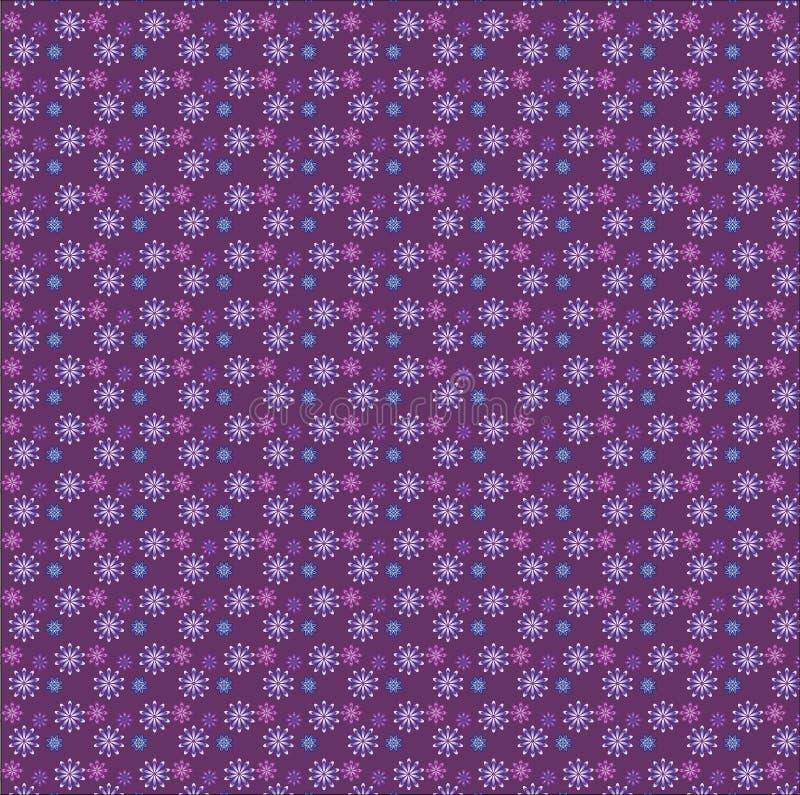Naadloos patroon met elementen van de kleur van bloemenbourgondië royalty-vrije stock afbeelding