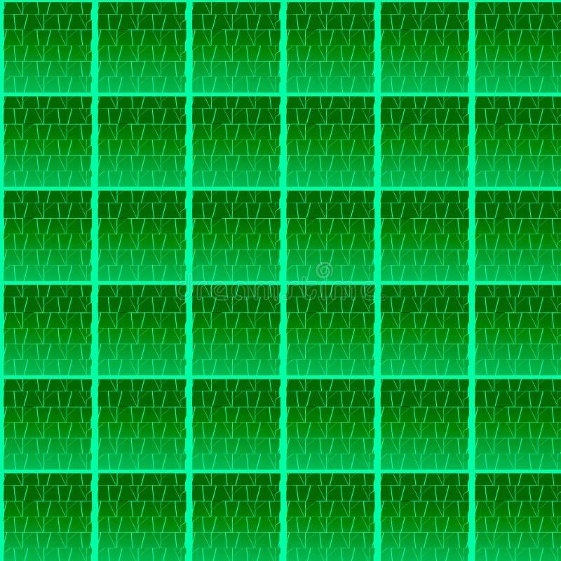 Naadloos patroon met elementen van metselwerk stock foto's