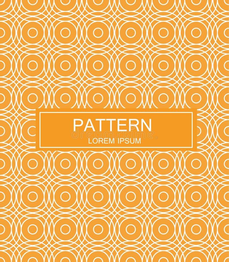 Naadloos patroon met gestippelde elementen Vector die textuur herhalen Modieuze zwart-wit achtergrond royalty-vrije stock fotografie