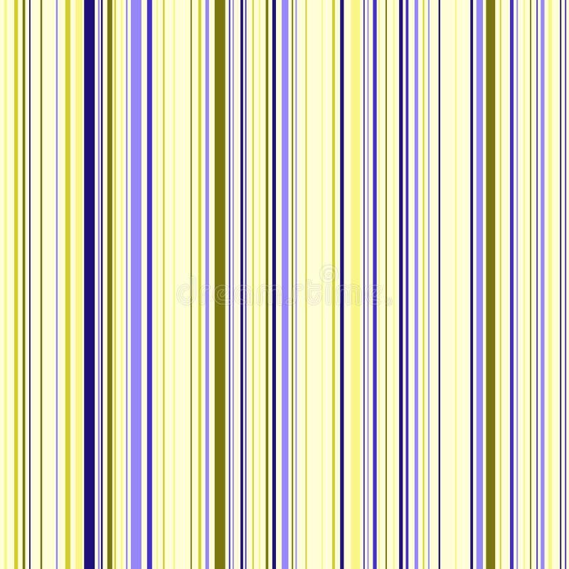 Naadloos patroon met kleurenstrepen stock afbeelding