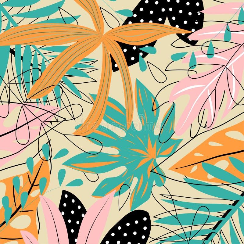 Naadloos patroon met marien thema Op een groene achtergrond, de walvis, de vuurtoren en de boot Vector ontwerp vector illustratie