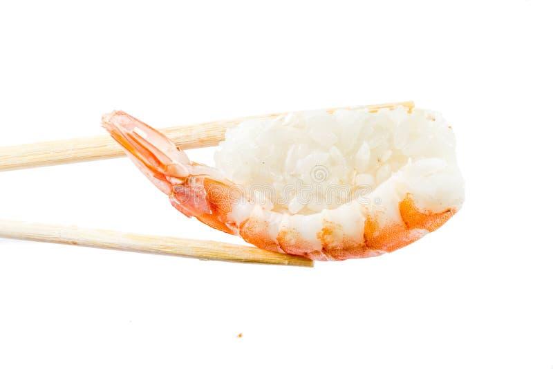 Naadloos patroon met sushi stock foto
