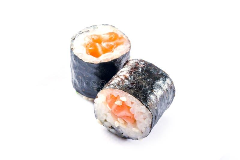 Naadloos patroon met sushi stock fotografie